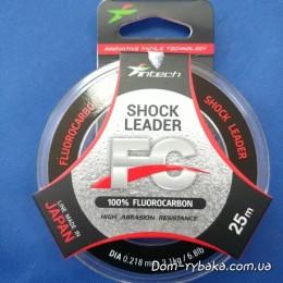 Флуорокарбон 100% Intech Shock Leader 0.218 мм  25 м 3.1 кг (9997002)