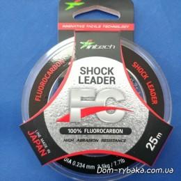 Флуорокарбон 100% Intech Shock Leader 0.234 мм  25 м 3.5 кг (9997003)