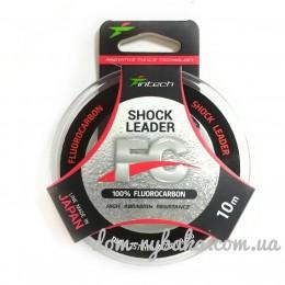 Флуорокарбон 100% Intech Shock Leader 0.123мм  10м 1кг( 9996179)