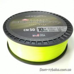 Леска Berkley Direct Connect CM50 флуоресцентная желтая  0.34mm 8,8kg 1200m (1380451)