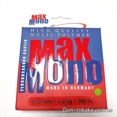 Леска Climax Max mono Fluorocarbo Coated multipolymer 0.22мм 4.4кг 300м оливковая(9996229)