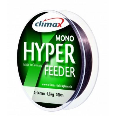 Леска Climax Hyper Feeder 0.25мм 5кг 250м  тёмно-коричневая(26890)