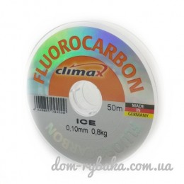 Флюорокарбоновая леска Climax Ice 0.10мм 0,8кг 50m (22419)