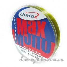 Леска Climax Max mono Fluorocarbon Coated оливковая (9996229)