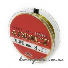 Леска Yamatoyo ADDICT NYLON 100 м №3.5 14lbs 0,31мм 6.3кг(Gold)(26941)