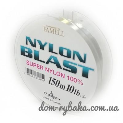 Леска Yamatoyo  Nylon Blast 150 м №3  14lbs 0.285мм 6.3кг(прозрачная)(26948)
