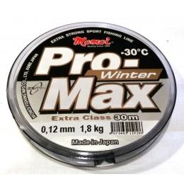 Леска Momoi Pro Max Winter Strong   0.12мм 1.8kг 30м прозрачная(9995074)