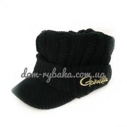 Шапка Gamakatsu Knit Cap с козырьком (7020037)