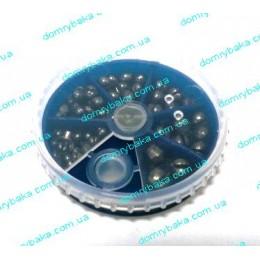 Набор для огрузки  25 грамм 6 весов разрезные (9993924)