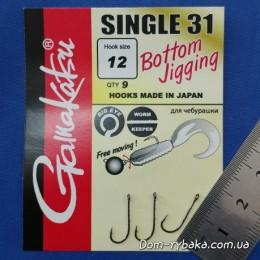 Крючок GAMAKATSU Single hook 31 № 12 9 шт (198509801200)