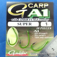 Крючок Gamakatsu A1 G-Carp  Camou Green Super №1 10 шт (14908600100)