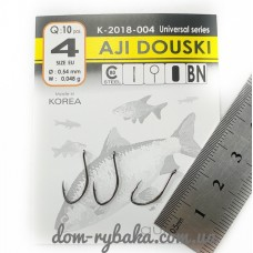 Крючок  Gurza  Aji Douski №4 10 шт (9998100) фото