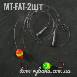 Морская оснастка на пеленгаса Master S MT-FAT 2 крючка  (9998969)