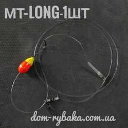 Морская оснастка на пеленгаса Master S MT-LONG 1 крючок (9998970)