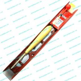 Оснастка поплавочная на мотовиле 2грамма +груз,крючок(9993995)