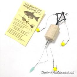 Снасть на толстолобика Busafa донная  3 крючка без груза  (9997181)