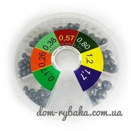 Набор грузов свинцовых Украина (9996526)