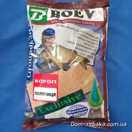 Прикормка Boev Карп Клубника 1кг  (9996989)