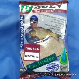 Прикормка Boev Плотва Мотыль  1кг  (9997222)