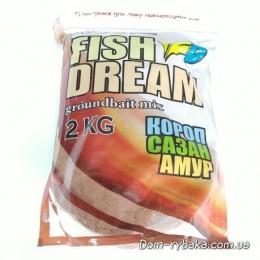 Прикормка Fish Dream Ground Bait Карп Сазан Амур 2 кг (9998012)