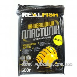 Пластилин Real fish Ананас  0.5 кг  (9998118)