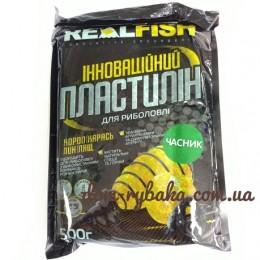 Пластилин Real fish Чеснок 0.5 кг (9998056)