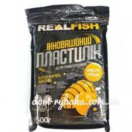 Пластилин Real fish Кислая Груша 0.5 кг (9998057)