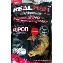 Прикормка Real fish Карп Клубника 1кг (9996149)