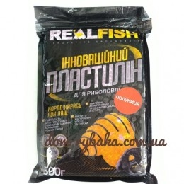 Пластилин Real fish Клубника 0.5 кг  (9998058)