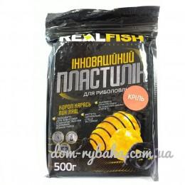 Пластилин Real fish Криль 0.5 кг (9998117)