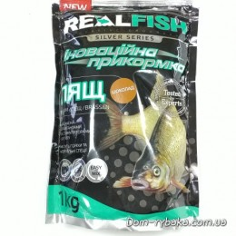 Прикормка Real fish Лещ Шоколад 1кг (9996789)
