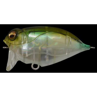 Воблер MEGABASS FUNKY FLIPPER цвет GP CRYSTAL FROG 14гр 60мм Floating(27141)