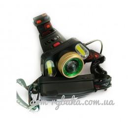 Фонарь аккумуляторный на голову  LED (9997312)