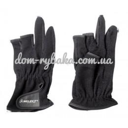 Ветрозащитные перчатки спиннингиста Select Basic SL-GB01 M (9996253)