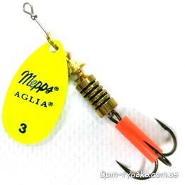 Блесна Mepps Aglia Fluo Chartreuse №3  6.5 гр(574428)