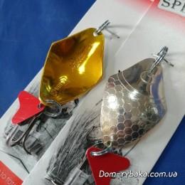 Блесна Spinnex Keta 14 гр серебро-золото (9996757)