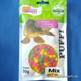Пенотесто Grizzly Микс  30 гр мини (9996841)