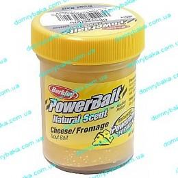 Паста форелевая  Berkley PowerBait® Natural Scent TroutBait Cheese Glitter 50 гр(1152856)