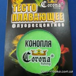 Тесто Corona Конопля плавающее флуоресцентное 20гр (9996682)