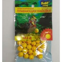Пенопластовые шарики Sevi Fishing Мед Экстра желт(9990192)