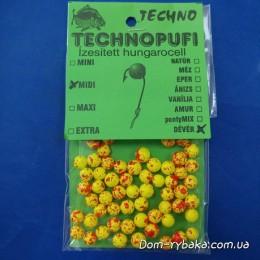 Пенопластовые шарики Techno Technopufi Dever лещ  Midi (9996807)