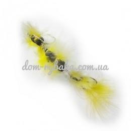 Приманка Судак Мандула 2 Hairy желтая 10см(9994521)