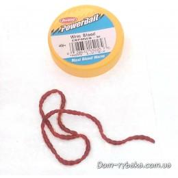 Мотыль крупный Berkley Maxi Power Blood Worm 12шт фасовка(1092475 фасовка)