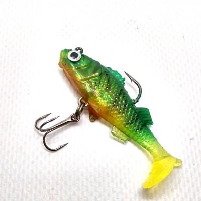 Виброхвост Jaxon Magic Fish 7грамм 55 мм цвет Е06I 1шт(9995402) фото