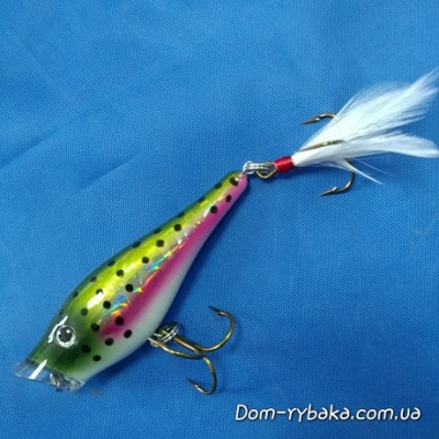 Воблер Berkley Popper topwater Rainbow 7cm 9g FP7-RT (1095834)