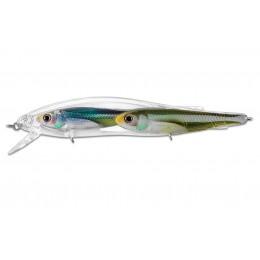 Воблер LIVETARGET EMERALD SHINER BAITBALL JERKBAIT 90SP цвет PEARL OLIVE (801) 8.75гр 90мм Suspend(27679)