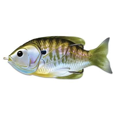 Воблер LIVETARGET SUNFISH HOLLOW BODY 75 цвет 550 (NATURAL/OLIVE BLUEGILL) 12.3гр 75мм Floating(28994)