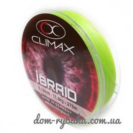 Шнур CLIMAX iBraid 8 chartreuse 275м (9998371)