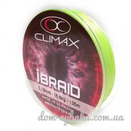 Шнур CLIMAX iBraid 8 chartreuse 135м (9998370)