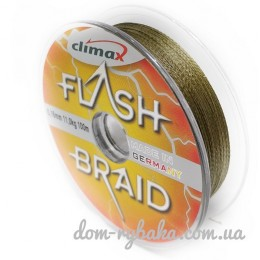 Шнур Climax Flash Braid 100м зеленый (2454900)